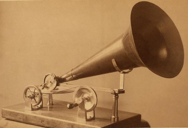 Emile Berliner patents the gramophone