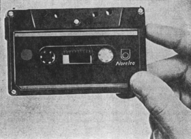 Compact Audio Cassette is introduced