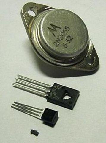 Invento del Transistor
