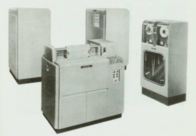 Impresora UNIVAC High Speed Printer