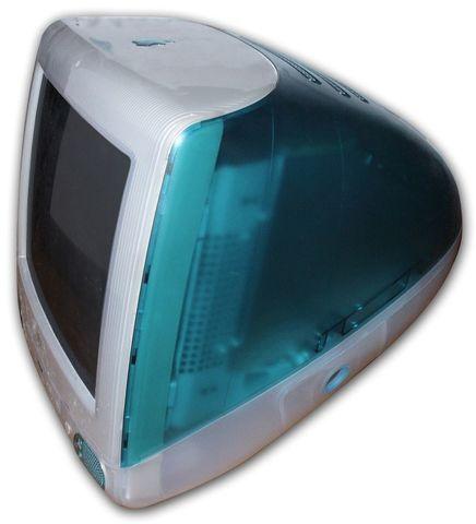 """""""Azul Bondi"""" iMac G3"""