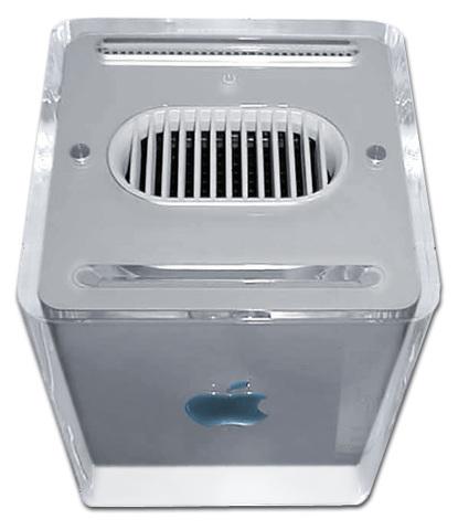 El PowerMac G4 Cube  (Apple)