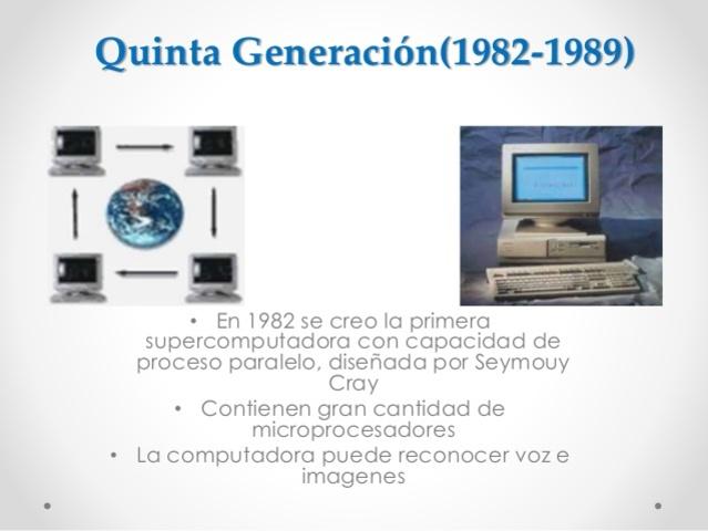 Quinta Generación(1982-1989)