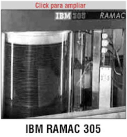 RAMAC 305 disco duro de IBM