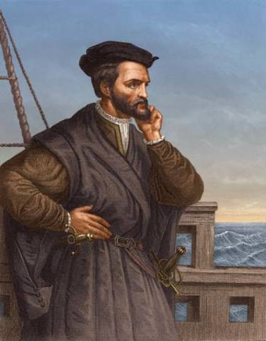 Jacques Cartier explored the St. Lawrence River as far as present day Montreal
