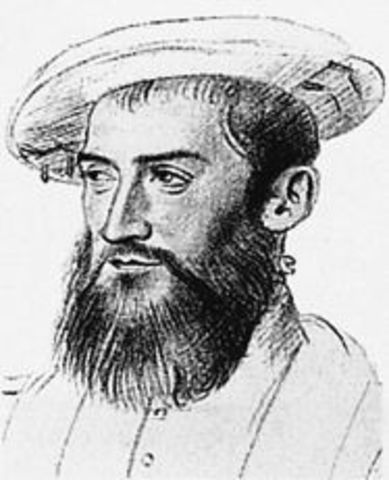 Jean Ribault headed an epedition that explored the St. Johns River area in Florida