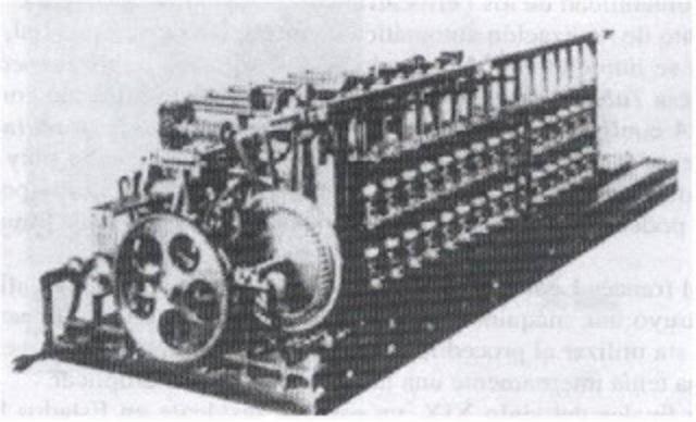 Invención de la máquina de tabular