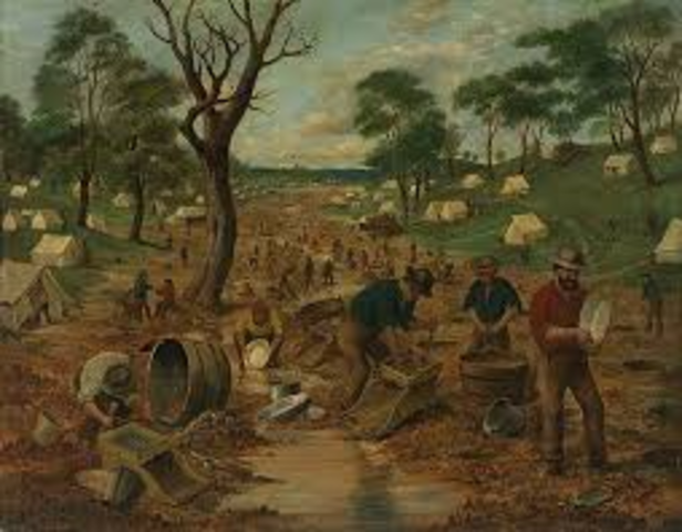 Centre of the Gold Rush