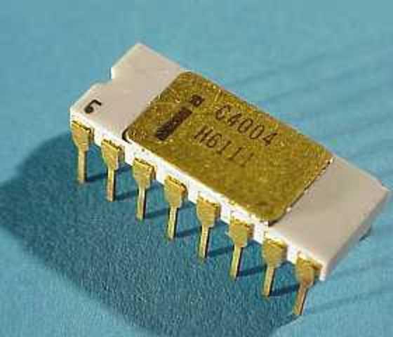 Invención del microprocesador