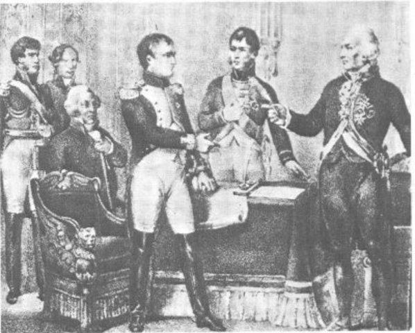 Se conocen en México las abdicaciones en Bayona de los reyes de España Carlos IV y Fernando VII