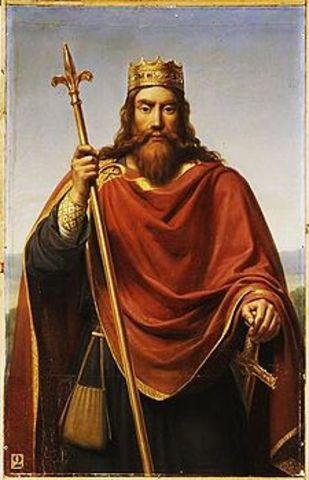 Clóvis torna-se rei dos Francos