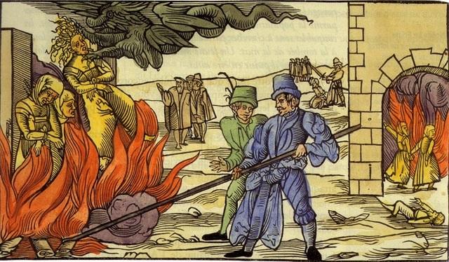 O papa Gregório IX institui a Inquisição.
