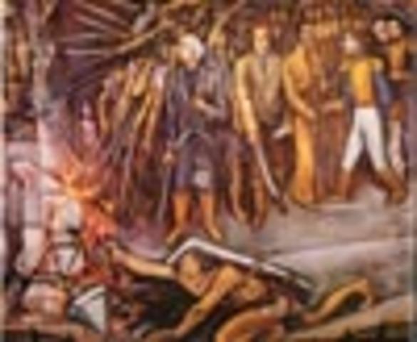 Miguel Hidalgo comisiona a Morelos levantarse en armas en la costa sur.