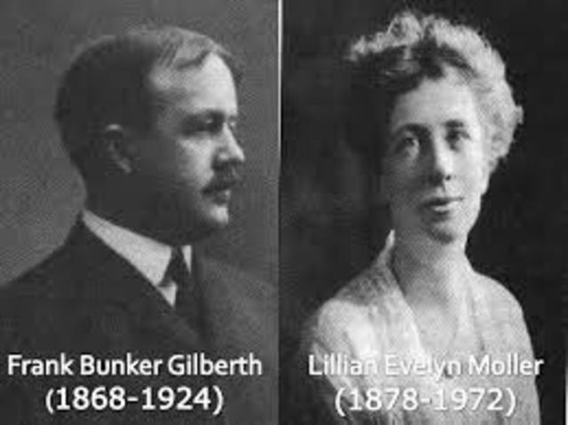 Frank Gilbreth y Lillian Moller