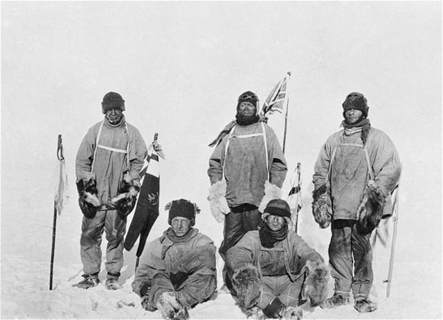 Four Men Reach South Pole