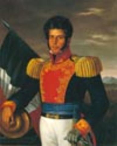 Vicente Guerrero continúa la resistencia insurgente y exhorta a la organización de milicias profesionales desde las Truchas.