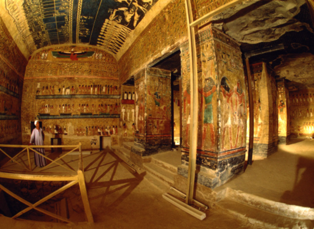Wine and Egyptian Tombs (3,150 BCE)
