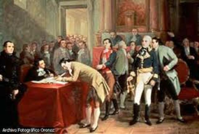 Se firma el tratado de Cordoba