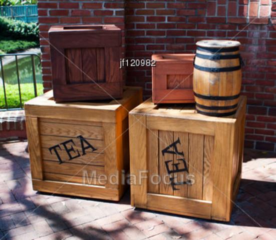 Tea Trade (sometime after 1773 CE)
