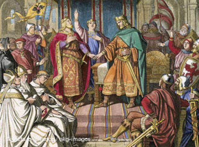 O Tratado de Verdun