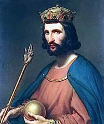 Hugo Capeto torna-se rei da França
