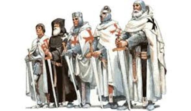 Criação da Ordem dos Cavaleiros Templários