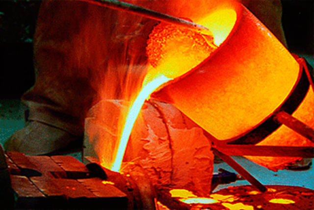 Primeros trabajos de metalurgia