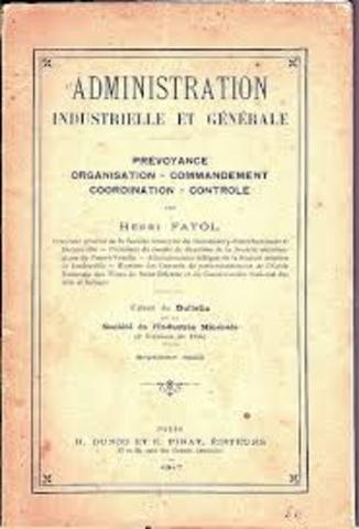 administration industrielle et generale