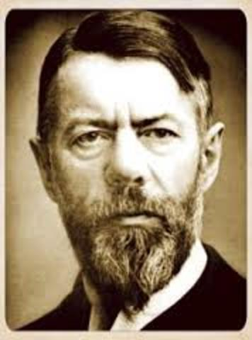 Max Weber 1946 -1947