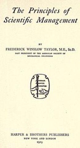 Libro principios de la Administracion Cientifica