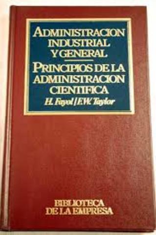 Administration industrielle et générale,
