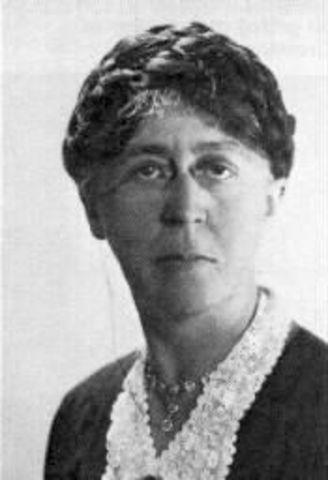 "Mary Parker Follett (""la madre de la gerencia moderna"")"