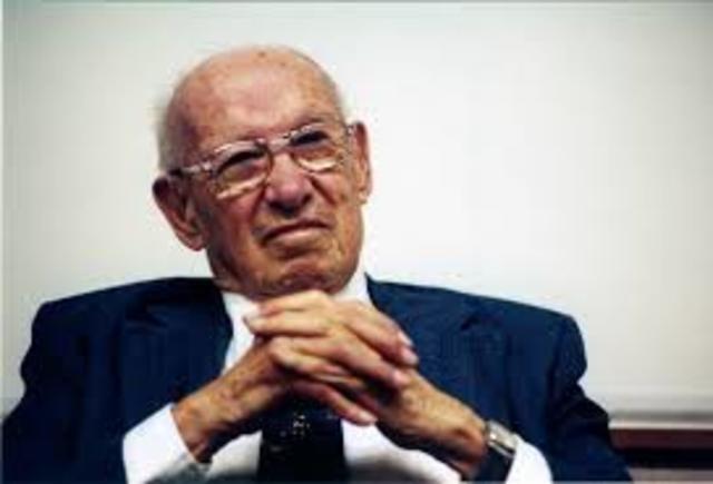 Peter F. Druker (padre del Management)