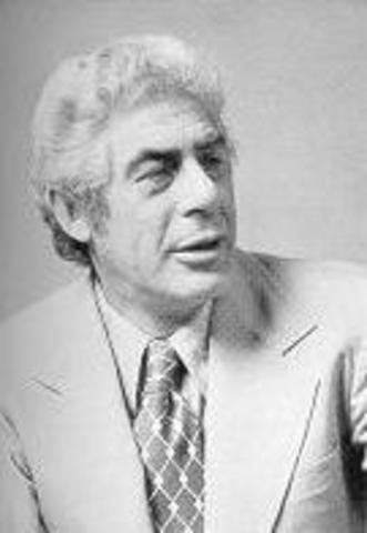 Frederick Irving Herzberg (teoría de los dos factores 1,959)