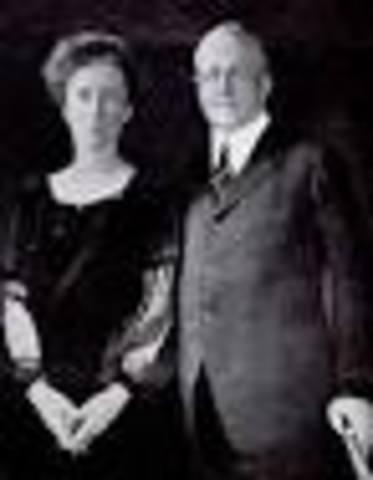 Frank y Lillian Gilberth.