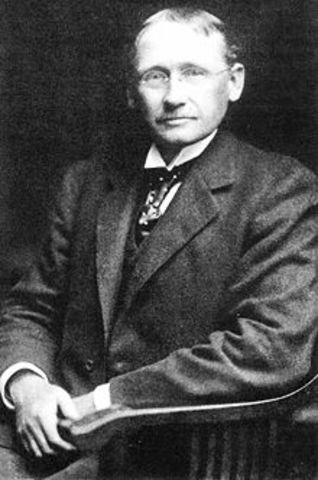 Henry Laurence Gantt (Gráfica de Gantt) ADMINISTRACION CIENTIFICA20 May 1901