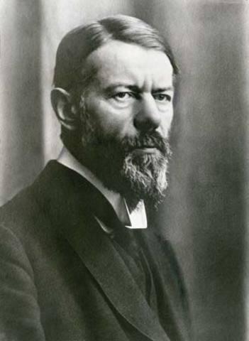 Max Weber ( teoría burocrática)  (CIENCIAS DEL COMPORTAMIENTO)20 Mayo1922