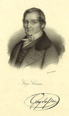 Joseph-Louis Gay-Lussac  (1778 –1850)