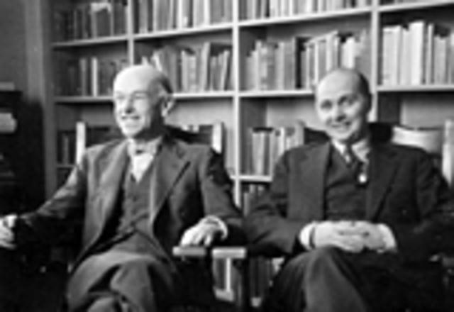 Elton Mayo y F. J. Roethlisberger (Movimiento por las relaciones humanas)  (CIENCIAS DEL COMPORTAMIENTO)19 Noviembre 1933