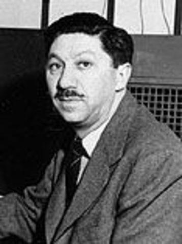 Abraham H. Maslow (Teoría de la jerarquía de necesidades)  (CIENCIAS DEL COMPORTAMIENTO) 1 Abril1954