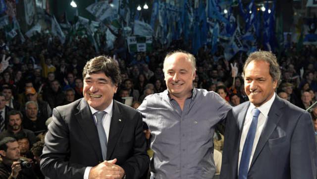 Primer acto de campaña,Scioli y Zannini juntos en Cordoba