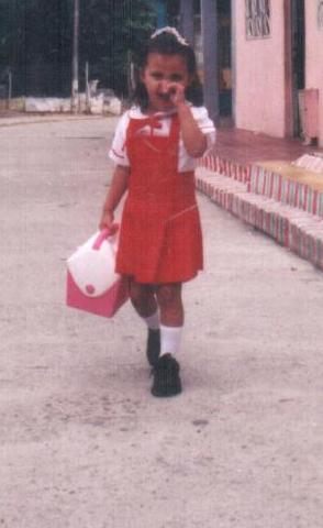 Mi Primer dia de colegio.