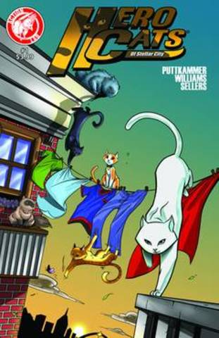 Hero Cats #1 ships nationally and launches a successful series