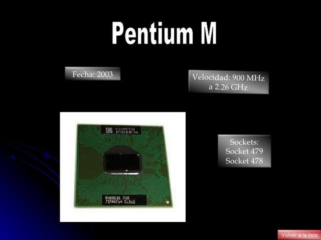 El Pentium M