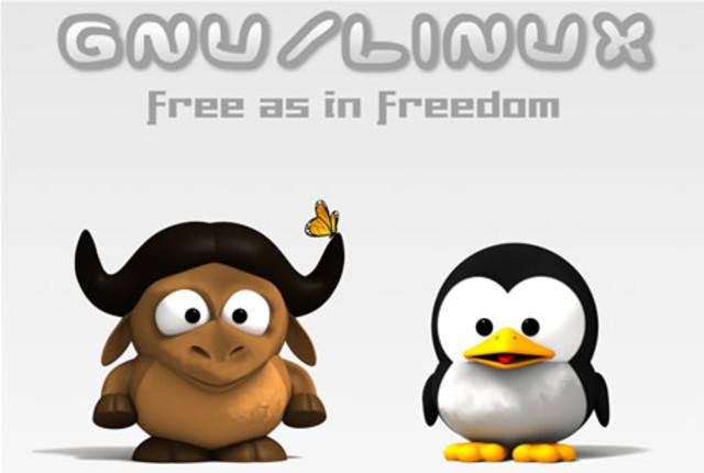 El núcleo LINUX es adaptado al ambiente de GNU