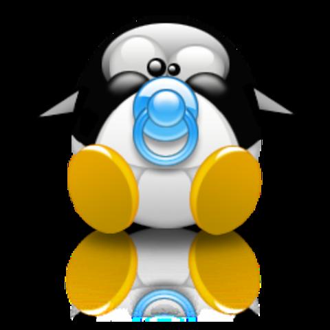 Tux como mascota de Linux.