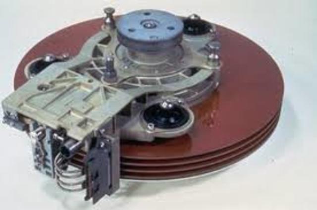 IBM 3340 los discos duros Winchister,