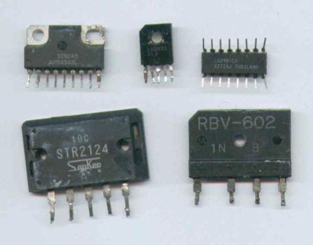 Aparicion de circuitos integrados