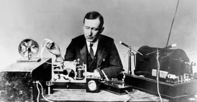"""Primera """"estación de Marconi""""."""