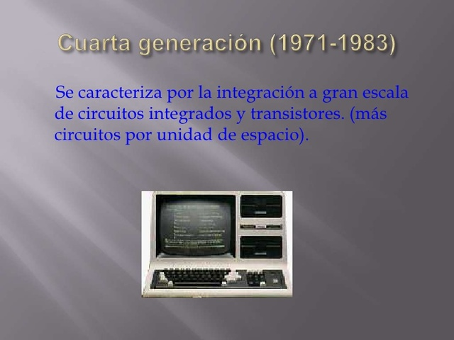 cuarta generacion(1971-1983)